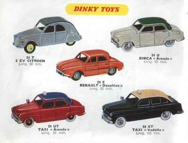 catalogue dinky toys automne 1958 p4