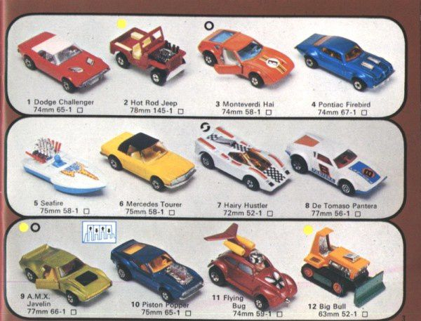 catalogue matchbox 1976 p03 firebird monteverdi