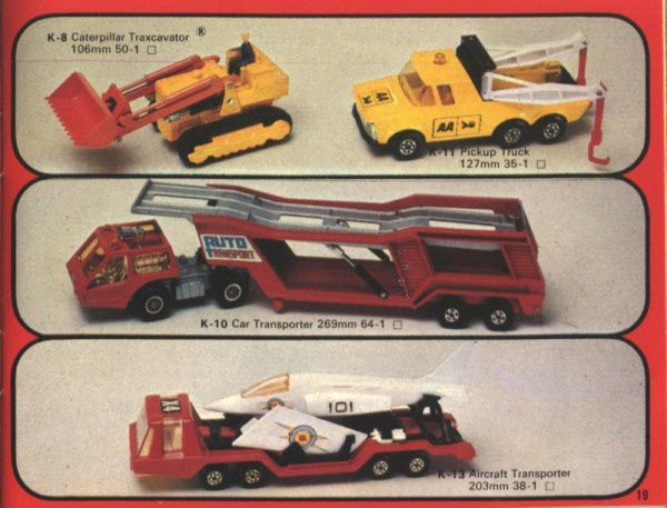 catalogue matchbox 1976 p19