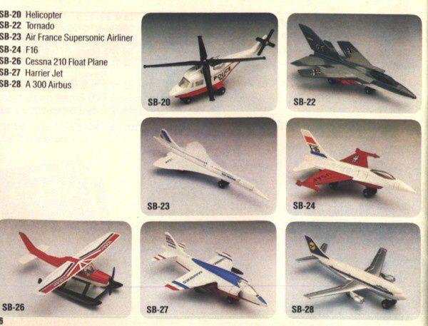 catalogue matchbox 1984 p46 tornado a300 airbus