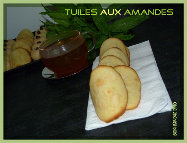 tuiles aux amandes effil es le blog de sarah. Black Bedroom Furniture Sets. Home Design Ideas