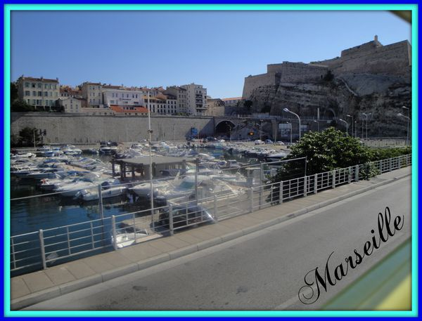 Mon week-end à Marseille