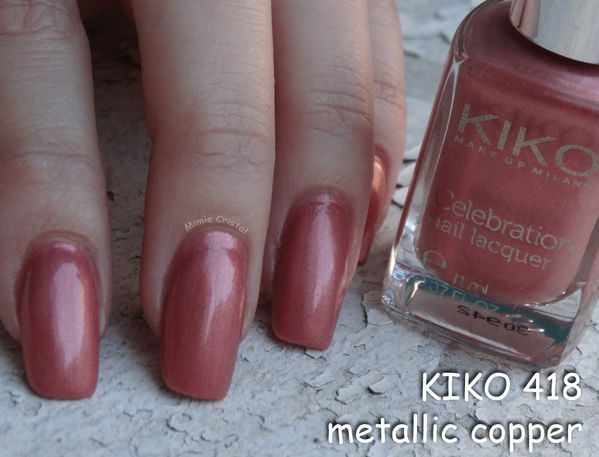 KIKO 418 metallic copper 01