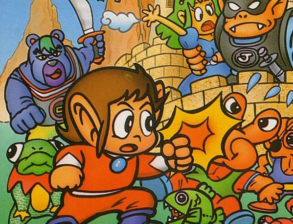 Alex Kidd in Miracle World up