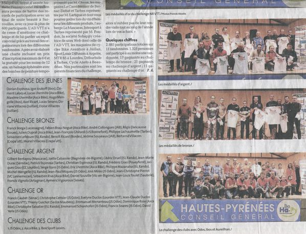 Article NR Remise Challenge 2014 2