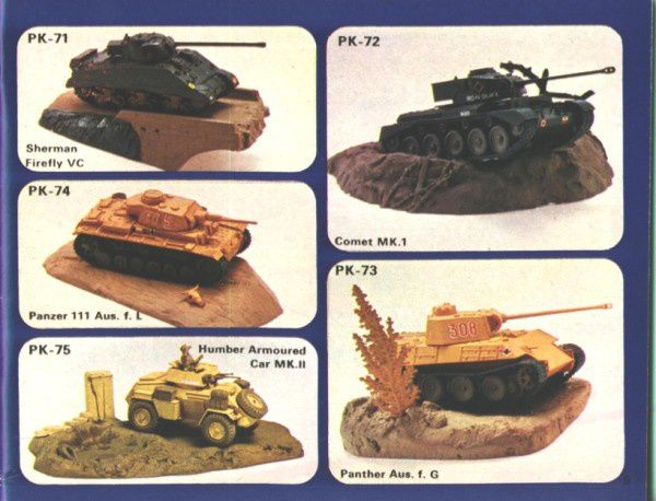 catalogue matchbox 1974-1975 p09 panther comet panzer