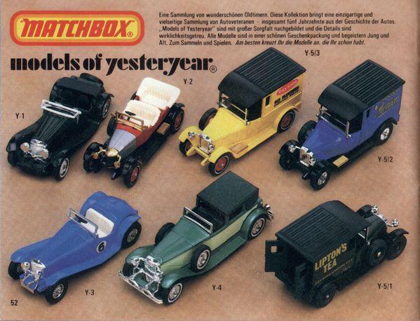 catalogue matchbox 1981.1982 p52