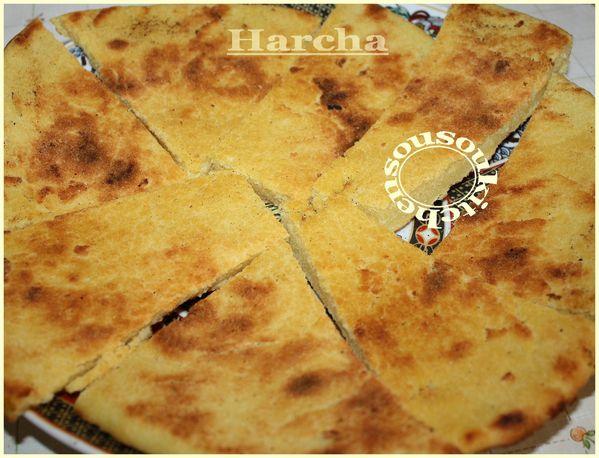 Harcha ou Hercha - Galette de semoule