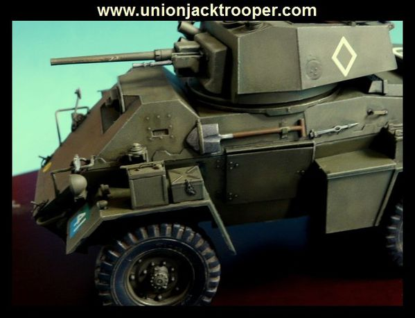 bronco british humber armoured car mk iv with interior plastic kits. Black Bedroom Furniture Sets. Home Design Ideas