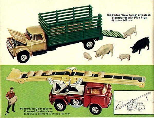 p42 catalogue corgi 1967