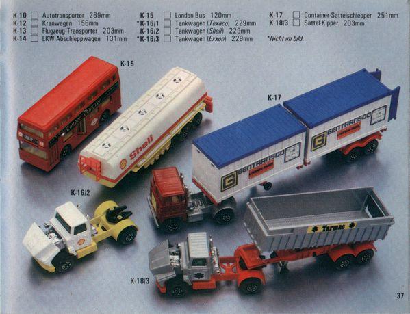 catalogue matchbox 1981.1982 p37