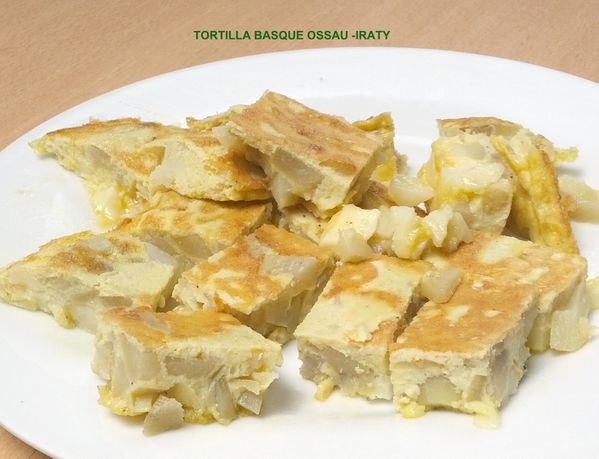 TORTILLA BASQUE OSSAU -IRATY