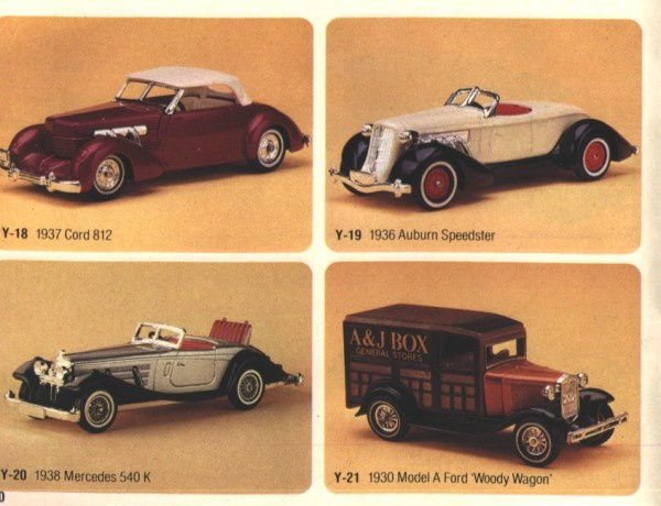 catalogue matchbox 1983 p20 ford woody wagon 1930