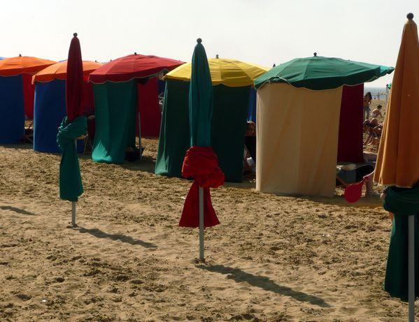 Deauville - parasols