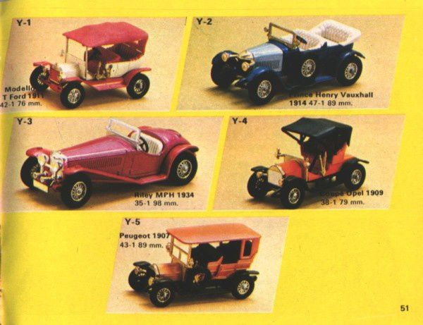 catalogue matchbox 1974-1975 p51 riley mph