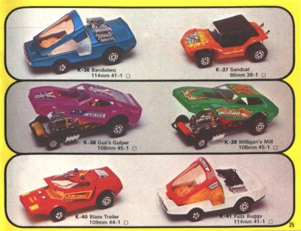 catalogue matchbox 1976 p25