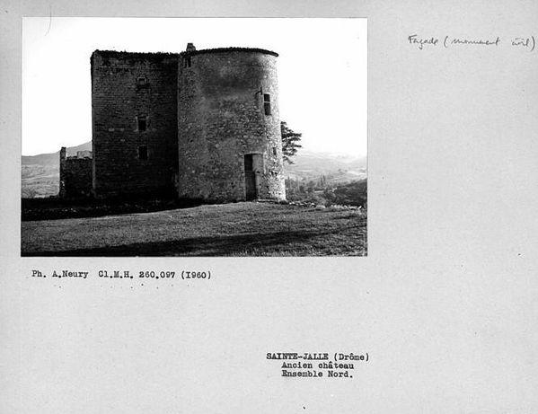 ancien château de Sainte-Jalle