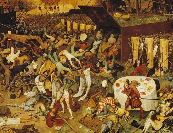pierre brueghel The triumph of death le triomphe d-copie-2