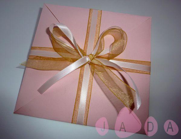 faire part inaya bapteme cadeau rose doré