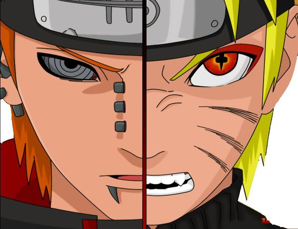 wallpaper naruto pain. Naruto Vs Pain Wallpaper by