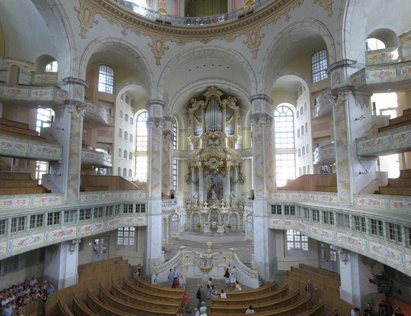 Frauenkirche Dresde Dresden intérieur