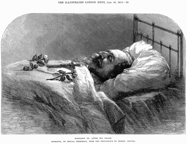 779px-Napoleon III after Death - Illustrated London News Ja