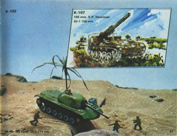 catalogue matchbox 1974-1975 p47 tank m48