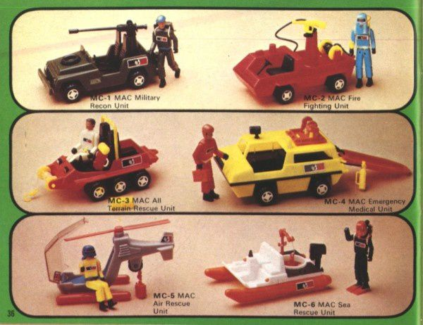 catalogue matchbox 1976 p36 medical unit
