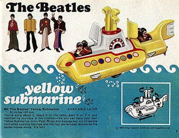 p03 the beatles yellow submarine john paul ringo george
