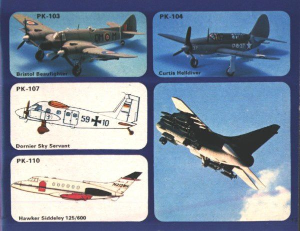 catalogue matchbox 1974-1975 p13 curtis helldiver bristol b