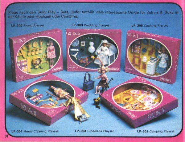 catalogue matchbox 1976 p38 poupee cinderella