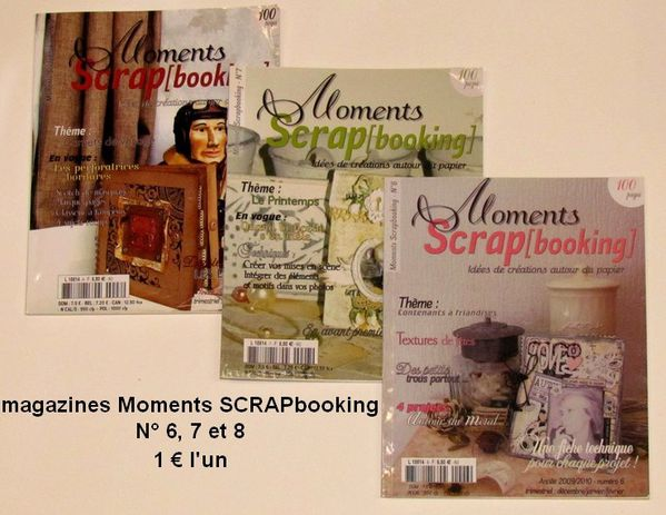 moments scrapbooking