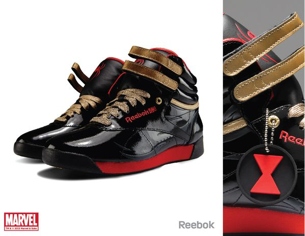 Sneaker Reebok X Marvel Black Widow