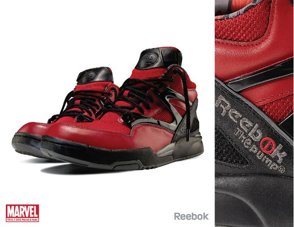 Sneaker Reebok X Marvel Deadpool