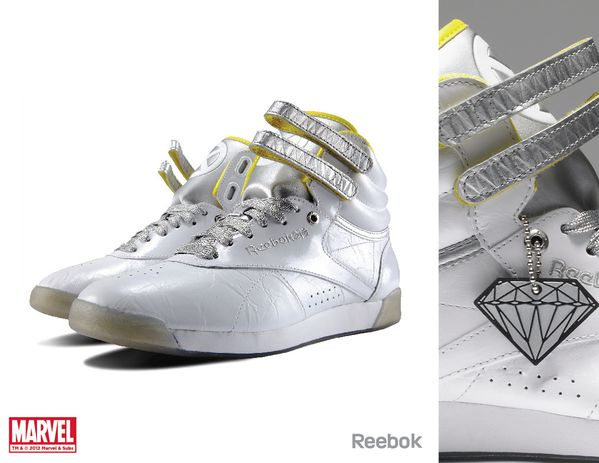 Sneaker Reebok X Marvel Emma Frost