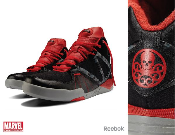 Sneaker Reebok X Marvel Red Skull