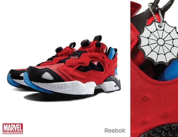 Sneaker Reebok X Marvel Spiderman