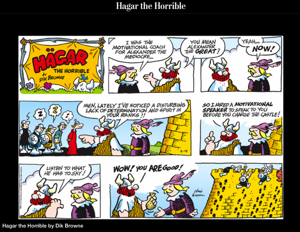 coaching Hagar