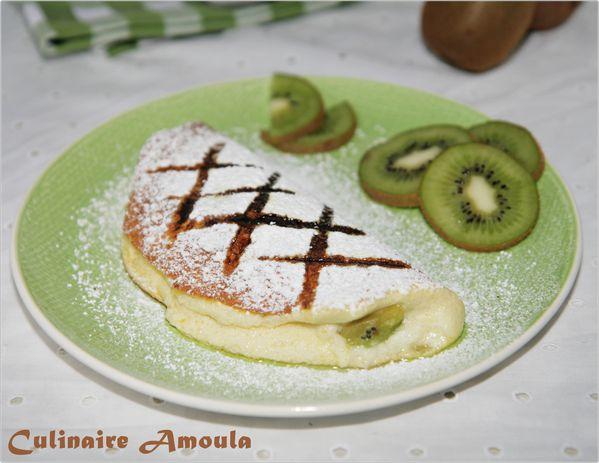 omlette soufflé kiwi