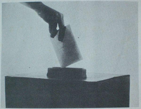 Bulletin dans urne