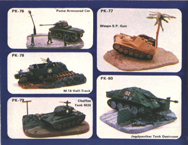 catalogue matchbox 1974-1975 p10 tank destroyer