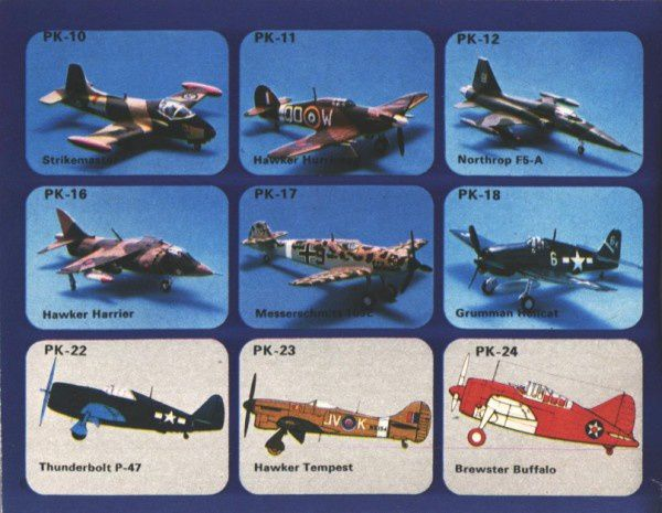 catalogue matchbox 1974-1975 p06 messerschmitt