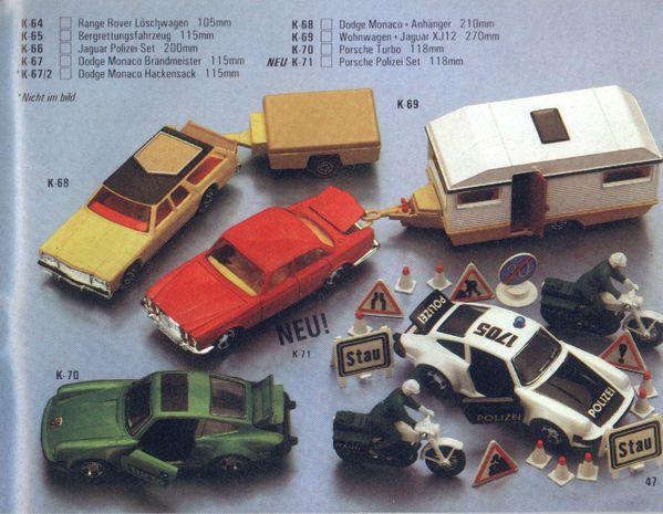 catalogue matchbox 1981.1982 p47