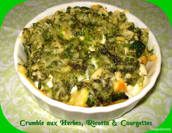 crumble aux herbes (1)