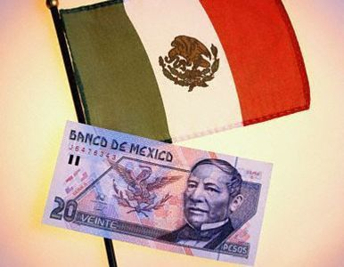 mxico dinero y bandera