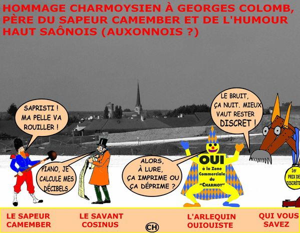 HOMMAGE COLOMB