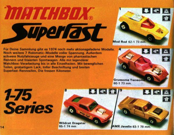 catalogue matchbox 1974-1975 p14