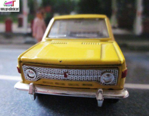 fiat 128 berline peinture jaune 1 43 mebetoys car. Black Bedroom Furniture Sets. Home Design Ideas