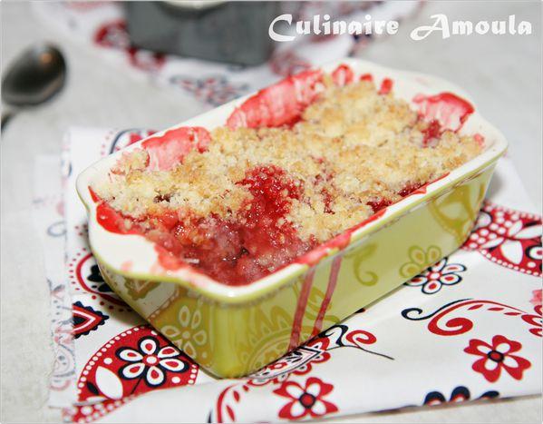 crumble aux fraises3