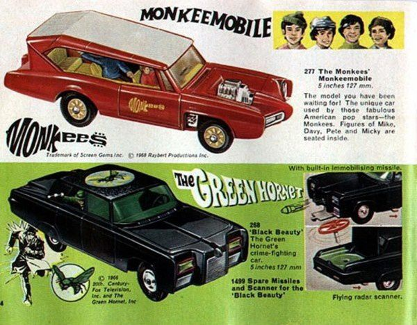 p04 monkeemobile the green hornet black beauty